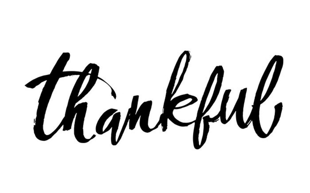 Thankfulness – Part 2